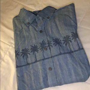 Men's button down shirt, short sleeve